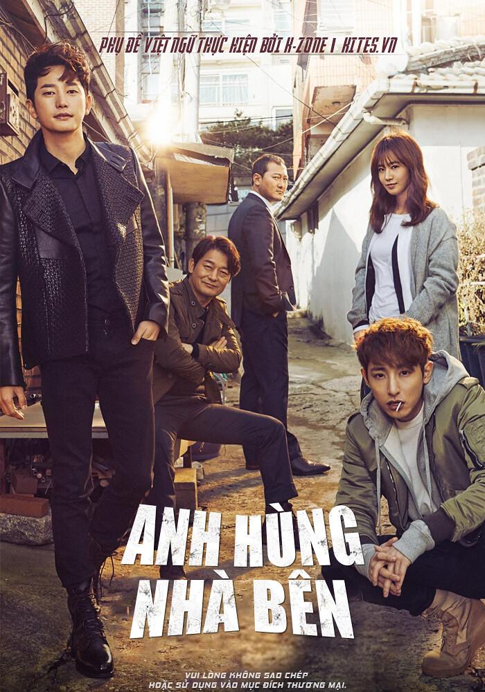 Anh Hùng Nhà Bên: Park Shi Hoo, Kwon Yuri [OCN 2016] 720p HDTV
