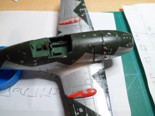 Pas-à-pas : Mitsubishi J2M3 modele 21 Raiden Jack [Tamiya 1/48] 24172735063_64bf061e40_o