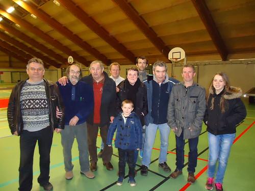 13/02/2016 - Salle Ty Dour (Morlaix) : Concours de boules plombées en doublettes formées