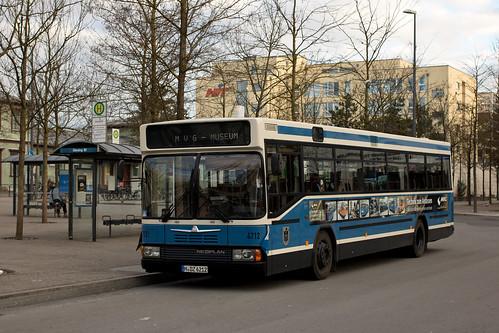 Hochflurwagen 4712 am Giesinger Bahnhof