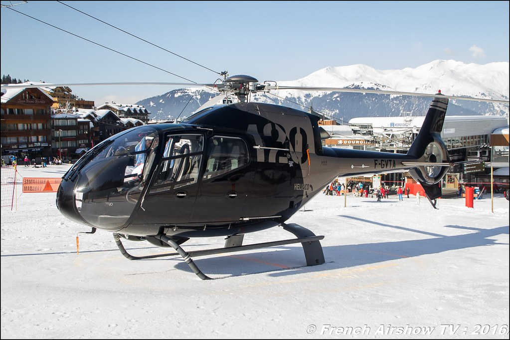 Eurocopter EC-120B Colibri (JAA) - F-GVTA, Salon Hélicoptère à Courchevel 2016, Meeting Aerien 2016