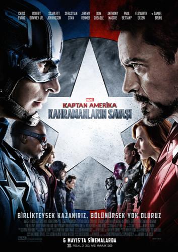 Kaptan Amerika: Kahramanların Savaşı - Captain America: Civil War (2016)