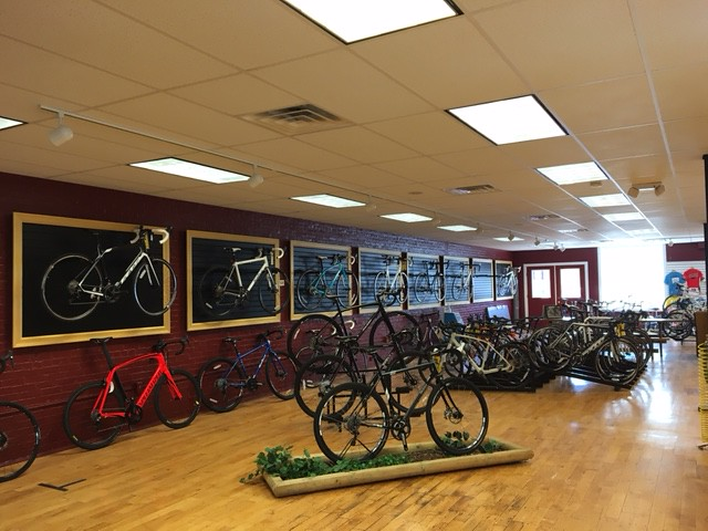 Pedal Power Middletown CT Road Bikes 2nd Floor