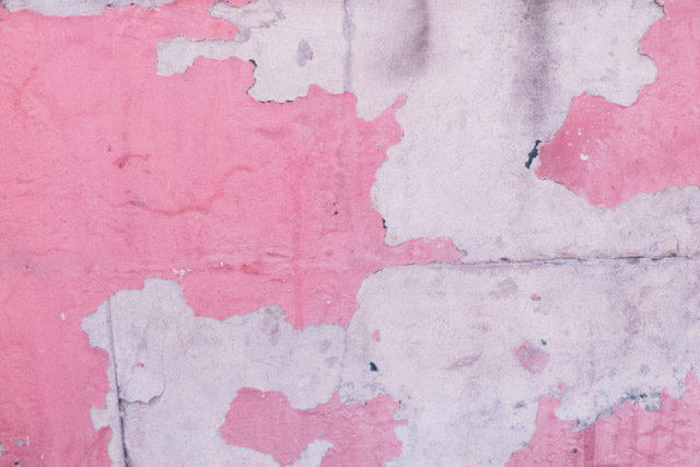 pink wall decay