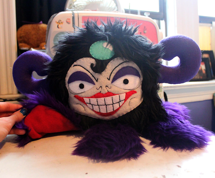 The Emperors New Groove - Yzma plush by LoveAndASandwich