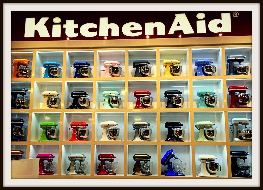 Kitchenaid Colors 2016 kitchenaid display, nebraska furniture mart, the colony, t… | flickr