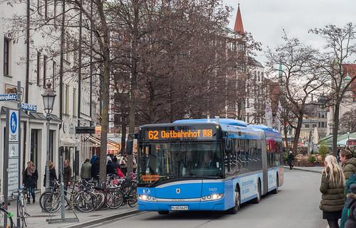 Solaris Urbino 18 5429 in der Prälat-Zistl-Straße