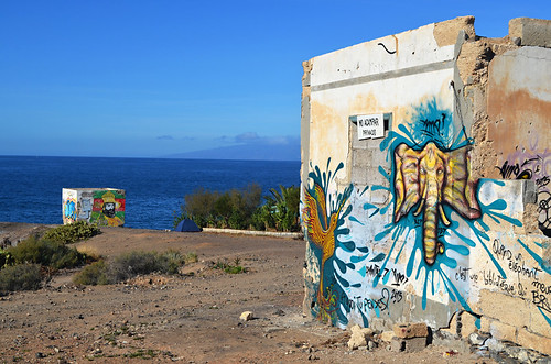 Coastal walk, Playa Paraiso, Tenerife