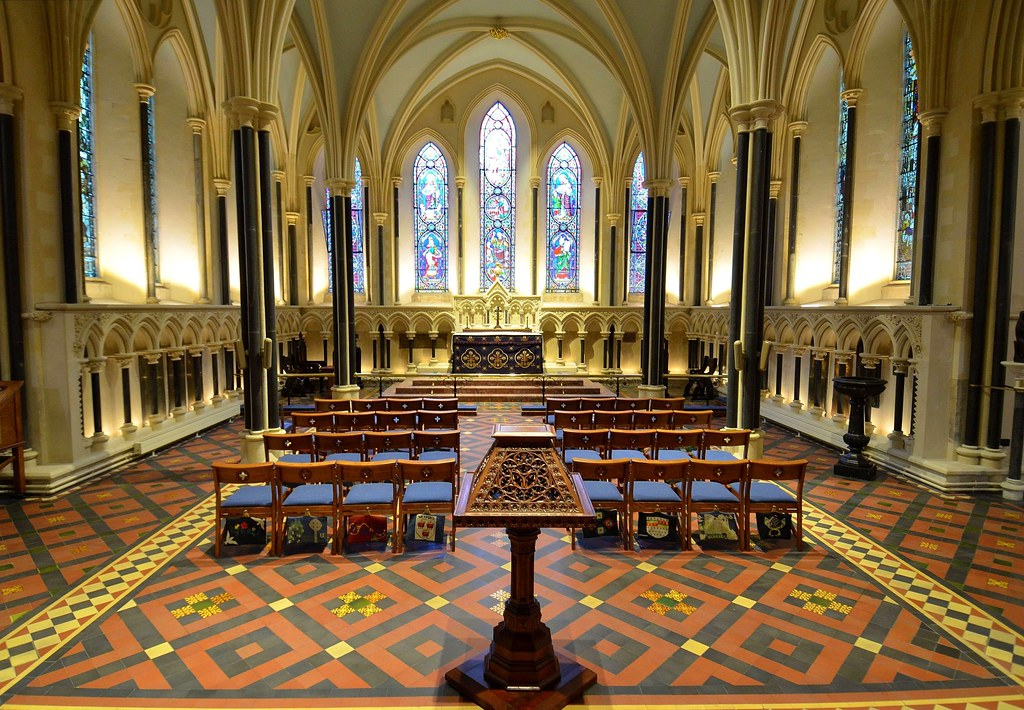 Lady Chapel St Patrick's Cathedral, Dublin. Credit Adrian Grycuk