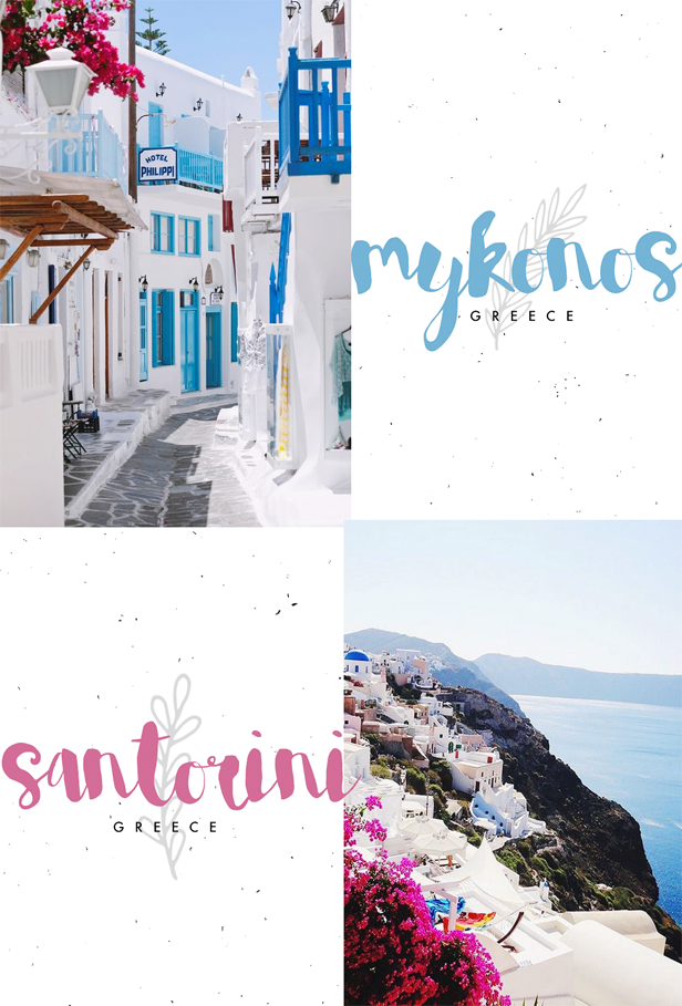 Mykonos Santorini Greece Travel Bucket List