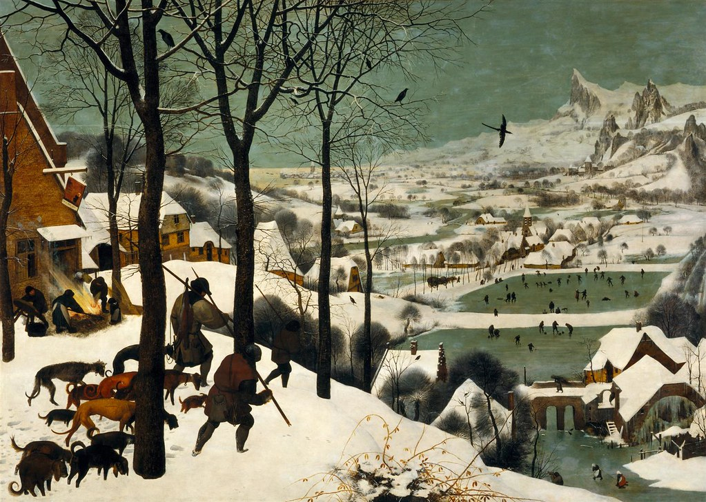 The Hunters in the Snow by Pieter Bruegel the Elder, 1565