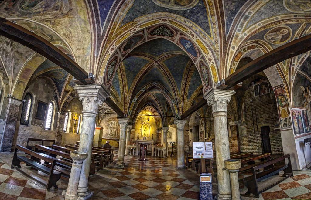 Treviso Chiesa Di Santa Lucia L 39 Interno Chiesa Di