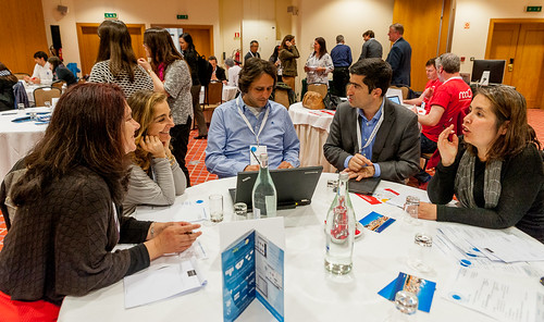 Networking time at Social Now 2016