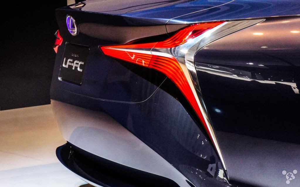 Even holographic projection has! Lexus future concept cars