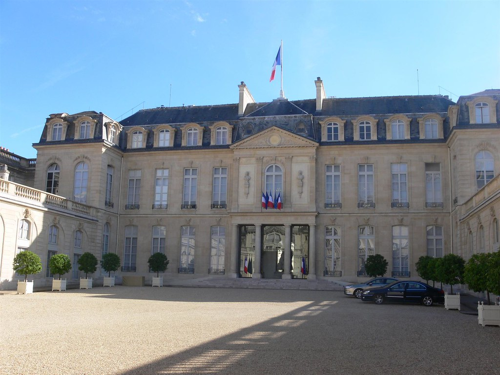 The Élysée Palace (Official residence of the President of France since 1848). Image credit Remi Mathis.