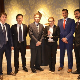 CFA Research Challenge Winning Team