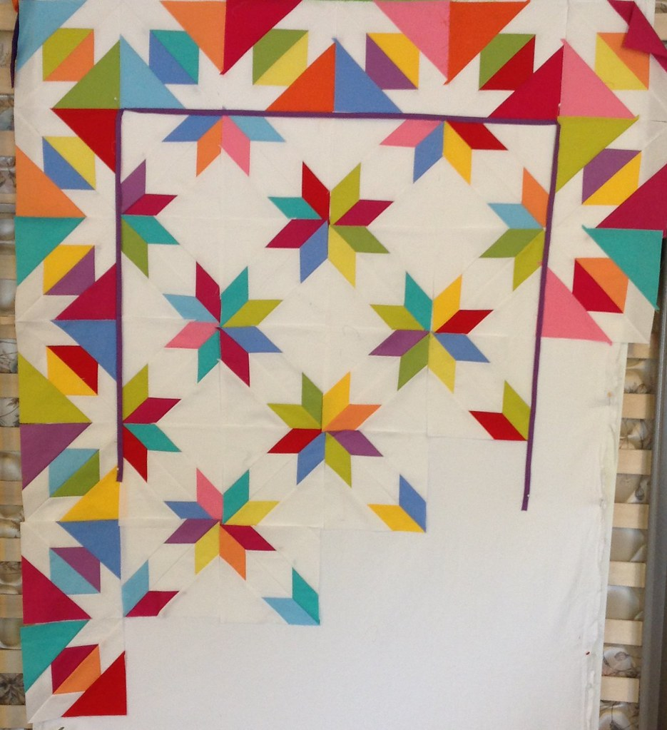 Hunter Star Quilt Ideas New Pattern Coming From Material