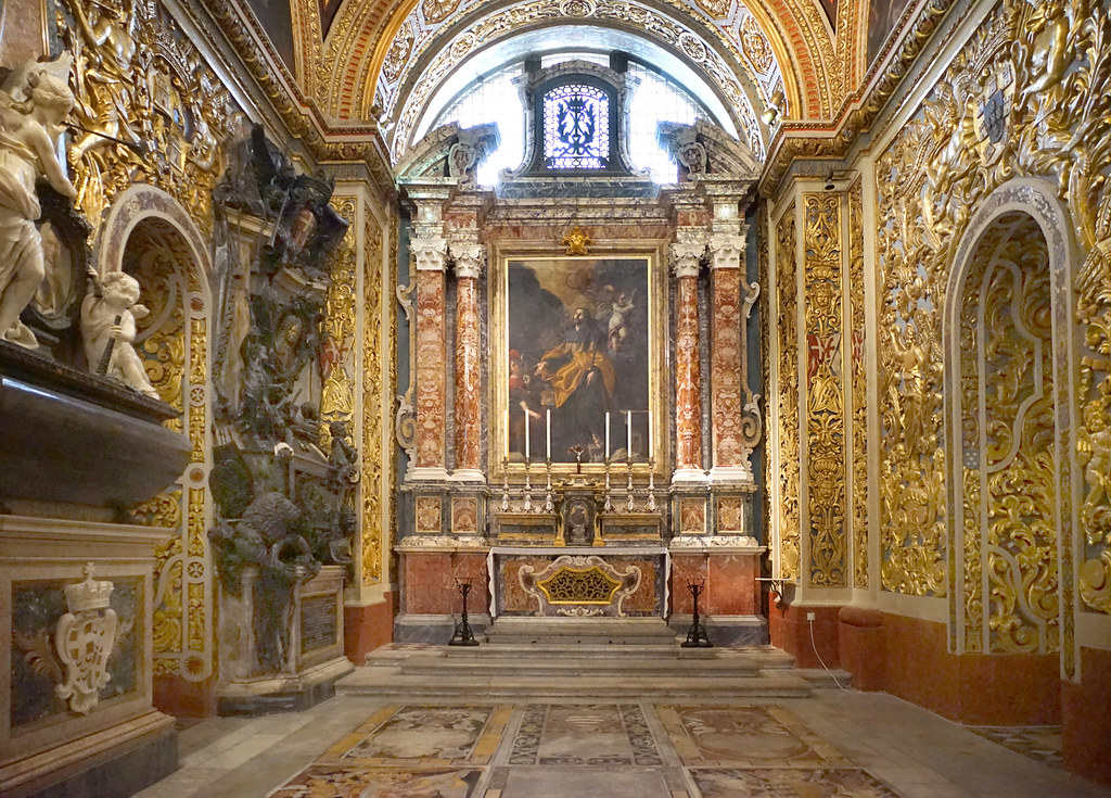 la co cath drale st jean la valette malte la chapelle d flickr. Black Bedroom Furniture Sets. Home Design Ideas