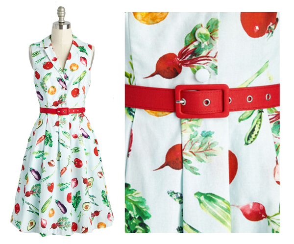 modcloth vegetable dress