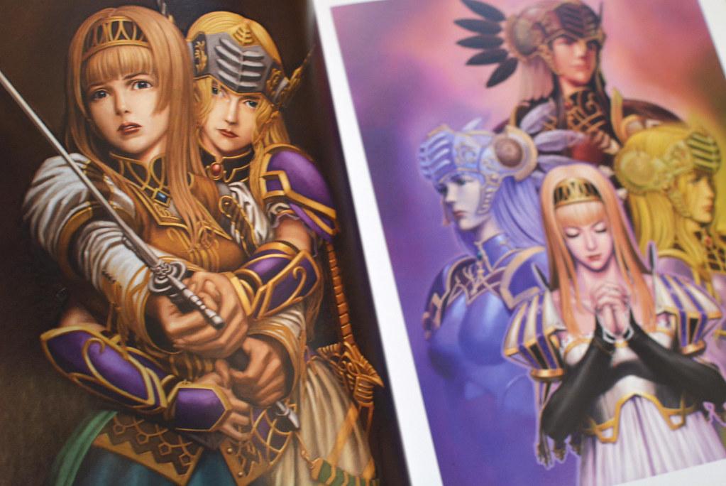 Valkyrie Profile Art Book