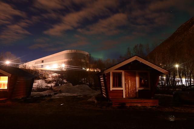 Auroras boreales en Tromso (Laponia Noruega)