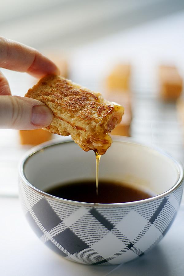 easy, freezer friendly french toast sticks