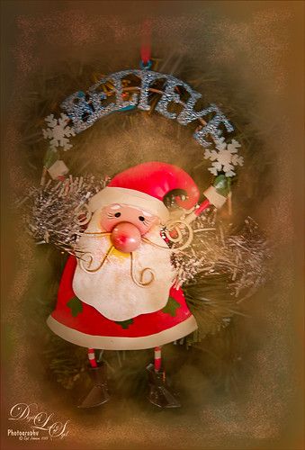 Santa Believe Ornament image