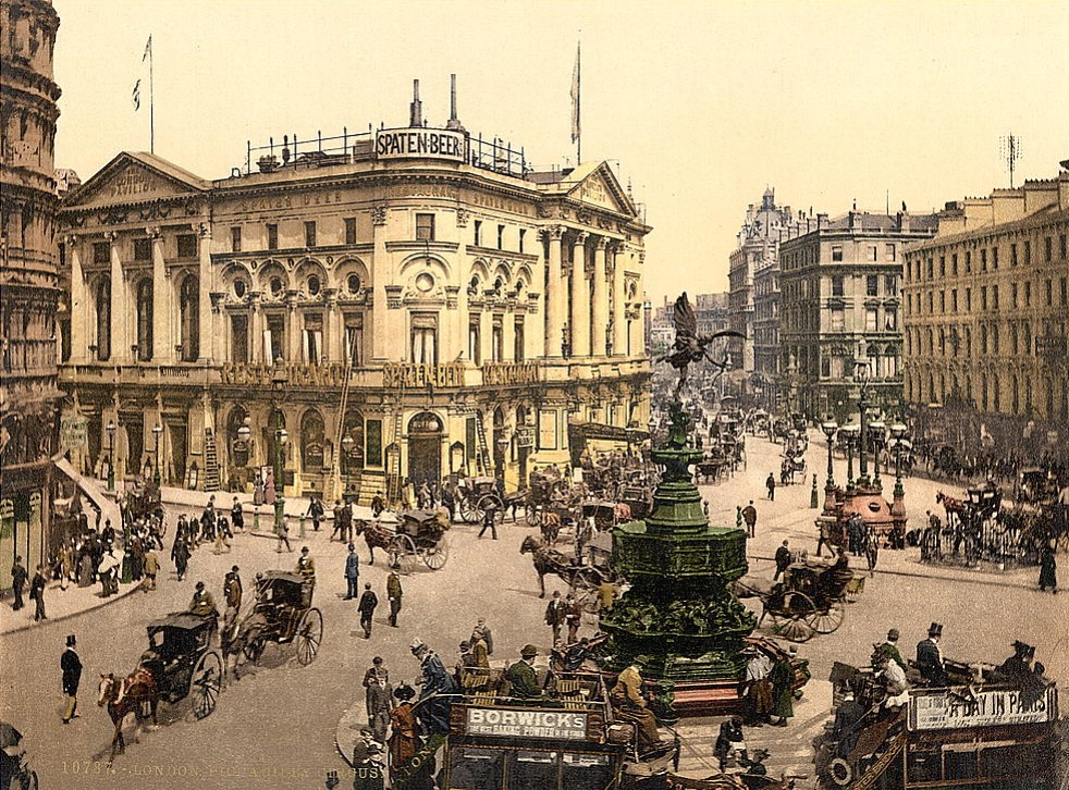 Piccadilly Circus, London 1895