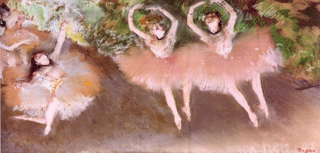 Ballet Scene by Edgar Degas, 1879
