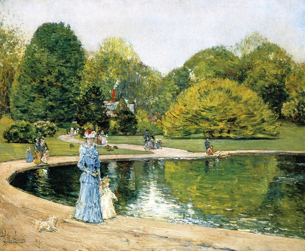 Central Park by Childe Hassam, 1892