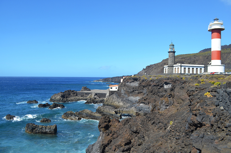 Old and new lighthouses, Fuencaliente, La Palma