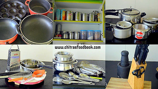 Kitchen utensils list