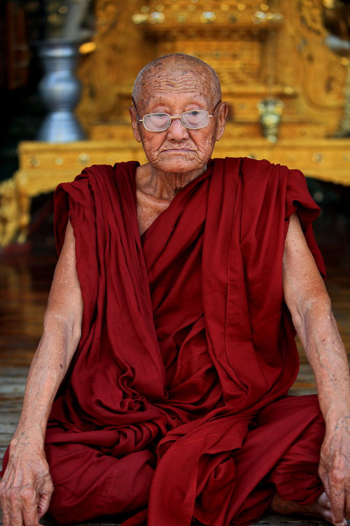 Portrait Of A Venerable Monk 2