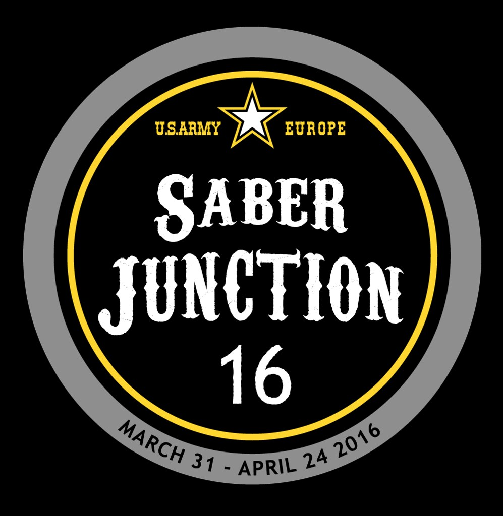 Saber Junction 16 Official Logo 7th Army Training