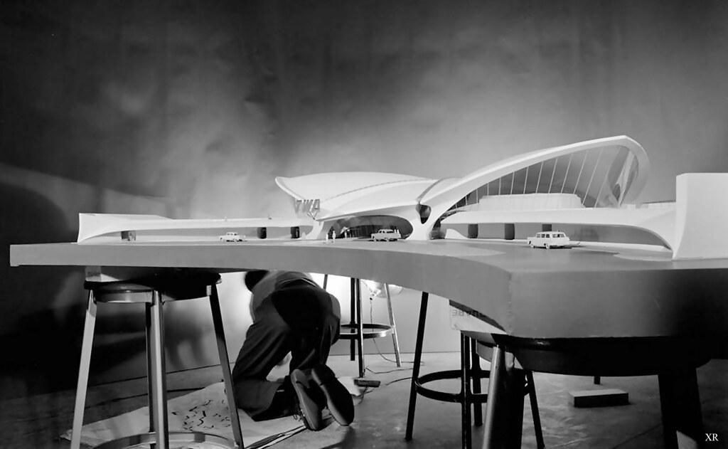 1961 ... TWA Terminal- Eero Saarinen