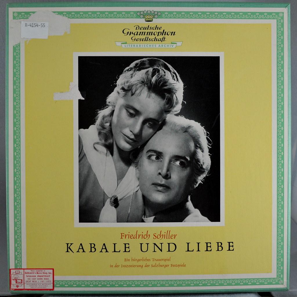 Briefe In Kabale Und Liebe : Kabale und liebe album title artist