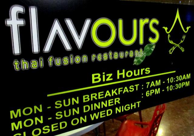 Flavours Thai Fusion Restaurant, Sibu