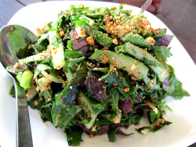 Payung herbs salad