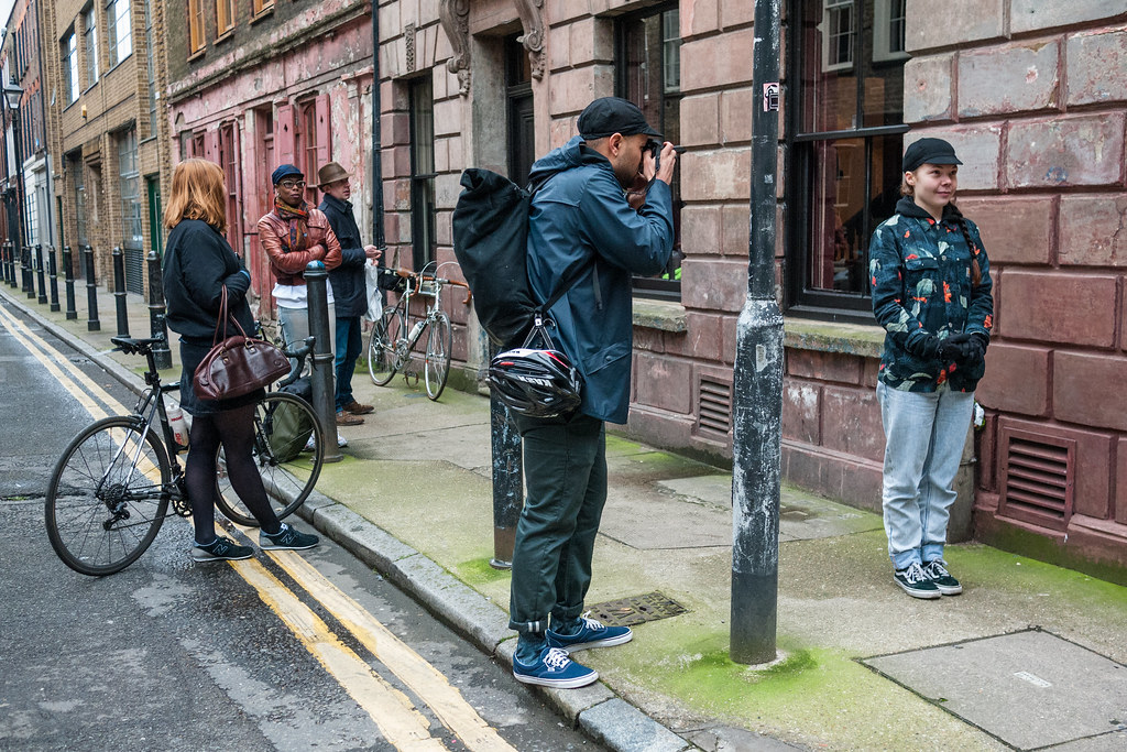 Spitalfields Cycling Caps Photo Shoot