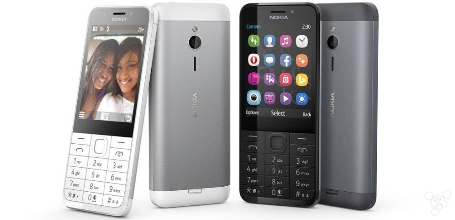 Microsoft pushes Nokia 230 feature phone main camera and battery life