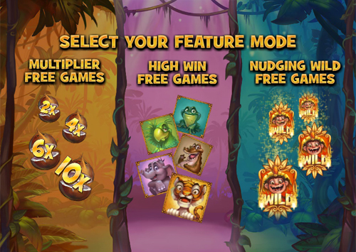 free Jungle Trouble free spins feature
