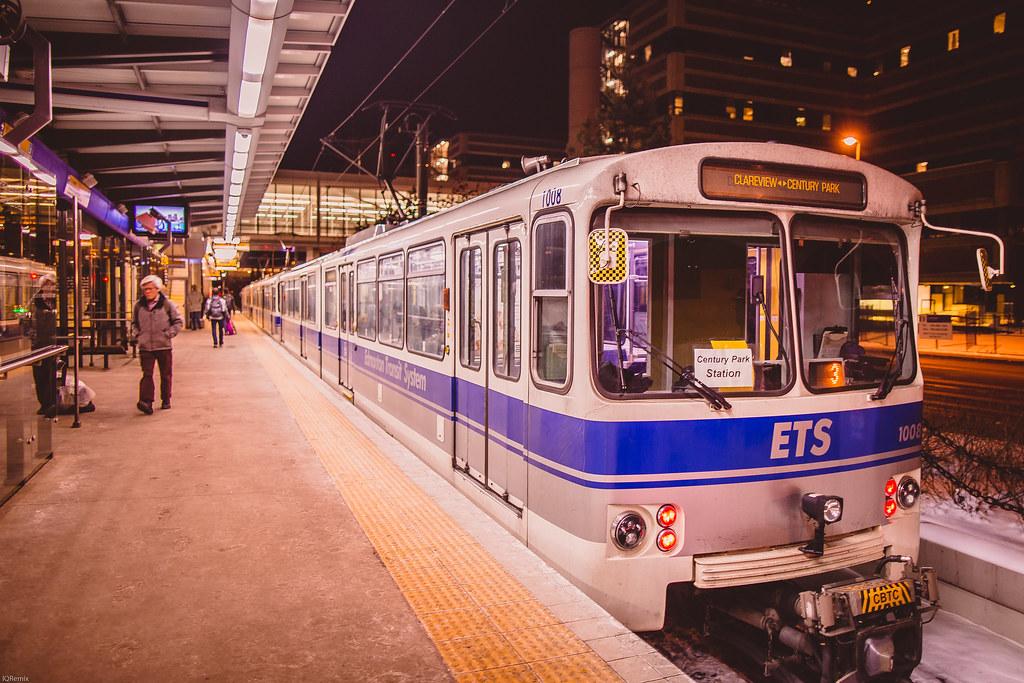 Edmonton Light Rail Transit Health Sciences Jubilee