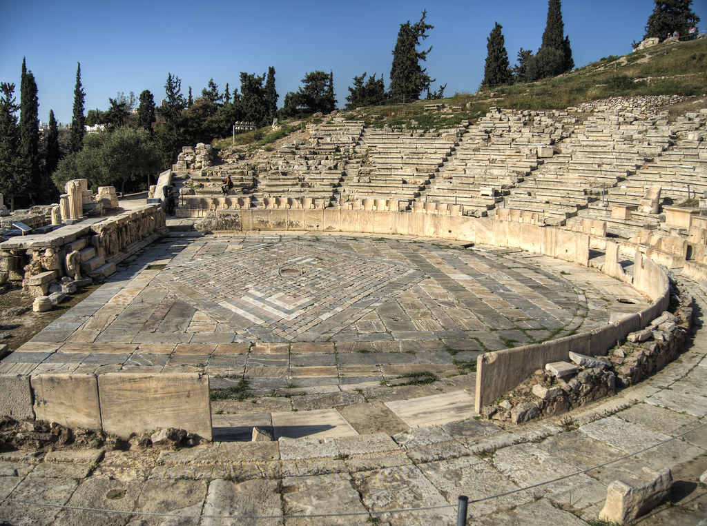 Theatre of Dionysus, Athens  *Theatre of Dionysus* This ...