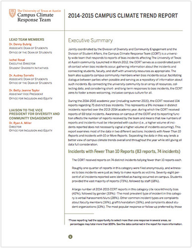CCRT Trend Report 2014-15