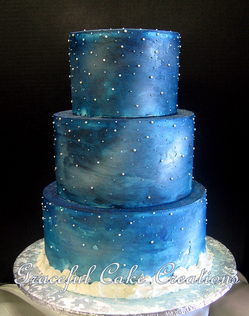 Starry Starry Night Cake
