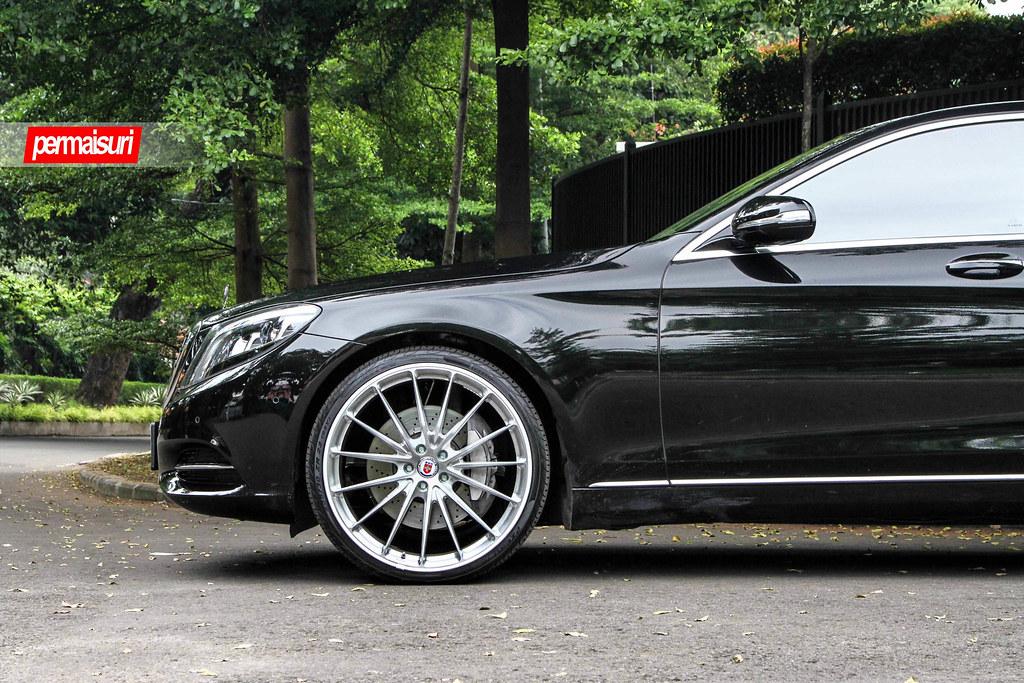 Hre Wheels Mercedes Benz S400 With Hre P103 Wheels
