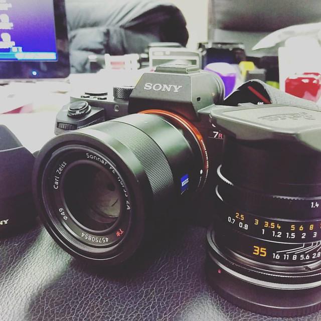 Sony FE 55mm f1.8 ZA 試鏡