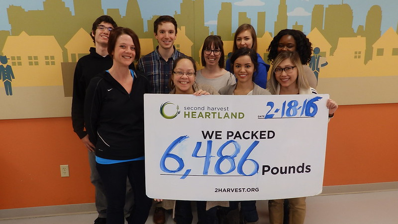Second Harvest Heartland Interns 2-18-16