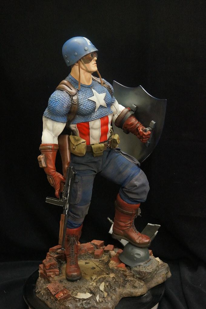 Custom Captain America Premium Format  25167071869_4bd388a7fb_b
