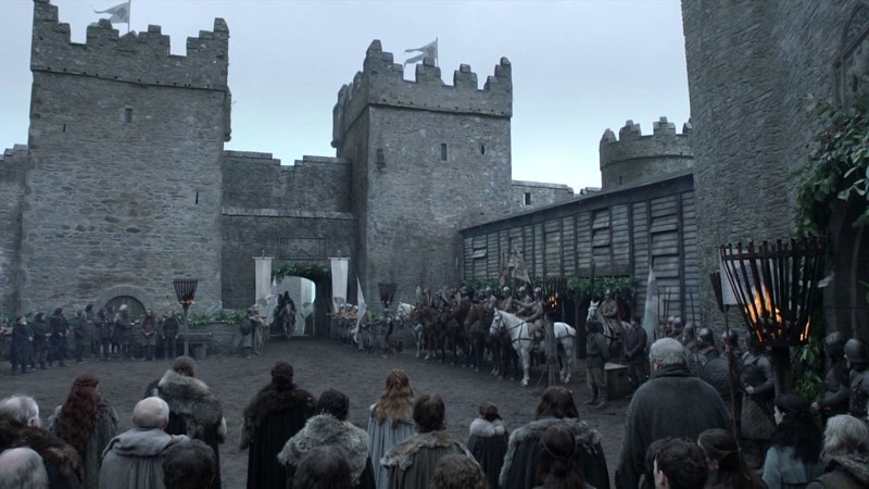 Winterfell set